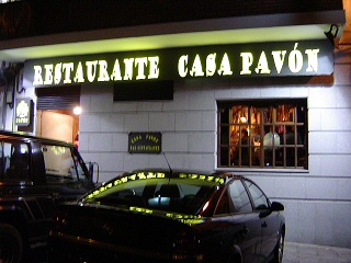 Bar - Restaurante Casa Pavón